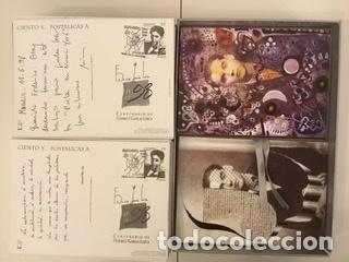 """Sellos: 1998-ESPAÑA Caja """"Cientos de postalicas Federico García Lorca"""" - más de 250 postales - - Foto 81 - 147482198"""