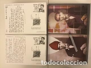 """Sellos: 1998-ESPAÑA Caja """"Cientos de postalicas Federico García Lorca"""" - más de 250 postales - - Foto 83 - 147482198"""