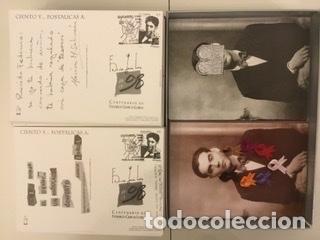 """Sellos: 1998-ESPAÑA Caja """"Cientos de postalicas Federico García Lorca"""" - más de 250 postales - - Foto 89 - 147482198"""