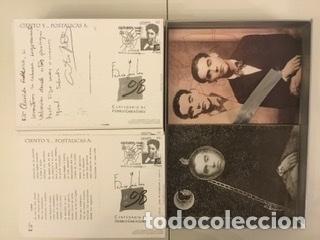 """Sellos: 1998-ESPAÑA Caja """"Cientos de postalicas Federico García Lorca"""" - más de 250 postales - - Foto 91 - 147482198"""