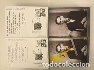 """Sellos: 1998-ESPAÑA Caja """"Cientos de postalicas Federico García Lorca"""" - más de 250 postales - - Foto 93 - 147482198"""