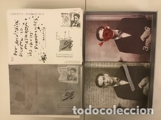 """Sellos: 1998-ESPAÑA Caja """"Cientos de postalicas Federico García Lorca"""" - más de 250 postales - - Foto 98 - 147482198"""