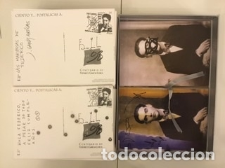 """Sellos: 1998-ESPAÑA Caja """"Cientos de postalicas Federico García Lorca"""" - más de 250 postales - - Foto 100 - 147482198"""