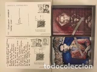 """Sellos: 1998-ESPAÑA Caja """"Cientos de postalicas Federico García Lorca"""" - más de 250 postales - - Foto 103 - 147482198"""