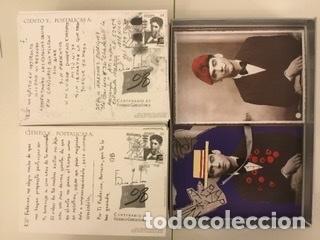 """Sellos: 1998-ESPAÑA Caja """"Cientos de postalicas Federico García Lorca"""" - más de 250 postales - - Foto 104 - 147482198"""
