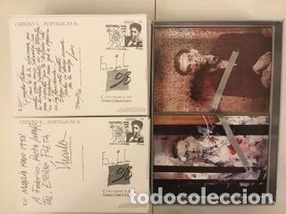 """Sellos: 1998-ESPAÑA Caja """"Cientos de postalicas Federico García Lorca"""" - más de 250 postales - - Foto 105 - 147482198"""