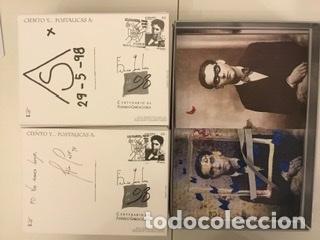 """Sellos: 1998-ESPAÑA Caja """"Cientos de postalicas Federico García Lorca"""" - más de 250 postales - - Foto 107 - 147482198"""