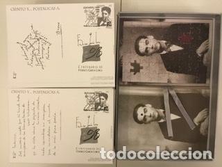 """Sellos: 1998-ESPAÑA Caja """"Cientos de postalicas Federico García Lorca"""" - más de 250 postales - - Foto 108 - 147482198"""