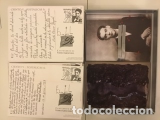"""Sellos: 1998-ESPAÑA Caja """"Cientos de postalicas Federico García Lorca"""" - más de 250 postales - - Foto 111 - 147482198"""