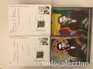 """Sellos: 1998-ESPAÑA Caja """"Cientos de postalicas Federico García Lorca"""" - más de 250 postales - - Foto 117 - 147482198"""