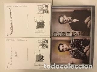 """Sellos: 1998-ESPAÑA Caja """"Cientos de postalicas Federico García Lorca"""" - más de 250 postales - - Foto 121 - 147482198"""