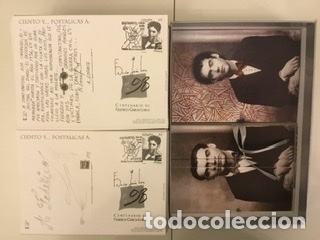 """Sellos: 1998-ESPAÑA Caja """"Cientos de postalicas Federico García Lorca"""" - más de 250 postales - - Foto 122 - 147482198"""