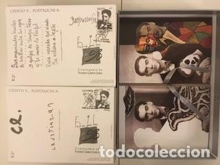 """Sellos: 1998-ESPAÑA Caja """"Cientos de postalicas Federico García Lorca"""" - más de 250 postales - - Foto 123 - 147482198"""