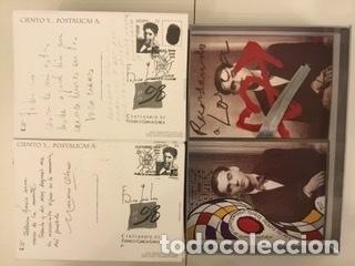 """Sellos: 1998-ESPAÑA Caja """"Cientos de postalicas Federico García Lorca"""" - más de 250 postales - - Foto 127 - 147482198"""