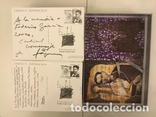 """Sellos: 1998-ESPAÑA Caja """"Cientos de postalicas Federico García Lorca"""" - más de 250 postales - - Foto 128 - 147482198"""