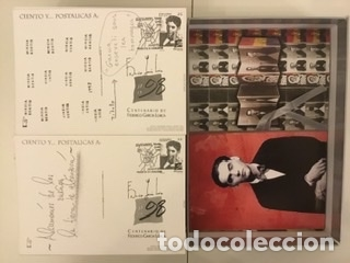 """Sellos: 1998-ESPAÑA Caja """"Cientos de postalicas Federico García Lorca"""" - más de 250 postales - - Foto 129 - 147482198"""