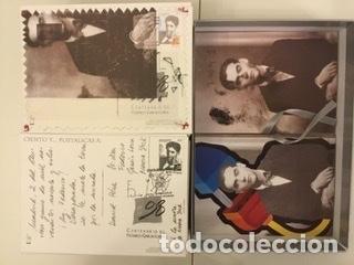 """Sellos: 1998-ESPAÑA Caja """"Cientos de postalicas Federico García Lorca"""" - más de 250 postales - - Foto 133 - 147482198"""