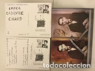 """Sellos: 1998-ESPAÑA Caja """"Cientos de postalicas Federico García Lorca"""" - más de 250 postales - - Foto 135 - 147482198"""