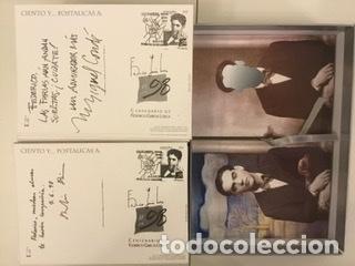 """Sellos: 1998-ESPAÑA Caja """"Cientos de postalicas Federico García Lorca"""" - más de 250 postales - - Foto 136 - 147482198"""