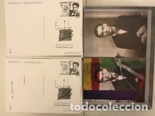 """Sellos: 1998-ESPAÑA Caja """"Cientos de postalicas Federico García Lorca"""" - más de 250 postales - - Foto 139 - 147482198"""