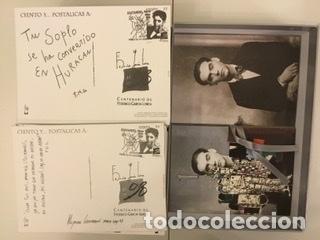 """Sellos: 1998-ESPAÑA Caja """"Cientos de postalicas Federico García Lorca"""" - más de 250 postales - - Foto 144 - 147482198"""