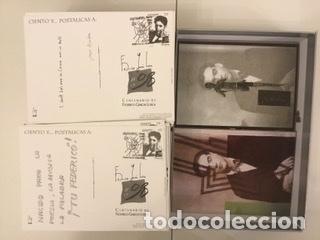 """Sellos: 1998-ESPAÑA Caja """"Cientos de postalicas Federico García Lorca"""" - más de 250 postales - - Foto 145 - 147482198"""