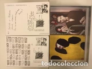 """Sellos: 1998-ESPAÑA Caja """"Cientos de postalicas Federico García Lorca"""" - más de 250 postales - - Foto 149 - 147482198"""