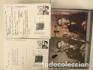 """Sellos: 1998-ESPAÑA Caja """"Cientos de postalicas Federico García Lorca"""" - más de 250 postales - - Foto 154 - 147482198"""