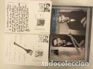 """Sellos: 1998-ESPAÑA Caja """"Cientos de postalicas Federico García Lorca"""" - más de 250 postales - - Foto 155 - 147482198"""
