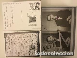 """Sellos: 1998-ESPAÑA Caja """"Cientos de postalicas Federico García Lorca"""" - más de 250 postales - - Foto 157 - 147482198"""