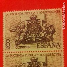 Sellos: 1980 LA HACIENDA PUBLICA Y LOS BORBONES. Lote 181815775