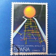 Sellos: USADO. AÑO 1988. EDIFIL 2939. EXPOSICIÓN UNIVERSAL DE SEVILLA. . Lote 182088832