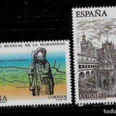 Sellos: JUAN CARLOS I - EDIFIL 3390-91 - 1995 -BIENES NATURALES Y CULTURALES PATRIMONIO MUNDIAL . Lote 182127871