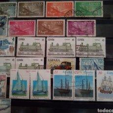 Sellos: SELLOS MEDIOS DE TRANSPORTE. ESPAÑA. ENVÍO GRATIS.. Lote 182256101
