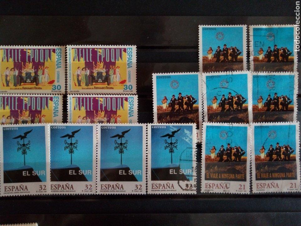 SELLOS CINE ESPAÑOL. ESPAÑA. ENVÍO GRATIS (Sellos - España - Juan Carlos I - Desde 1.986 a 1.999 - Usados)