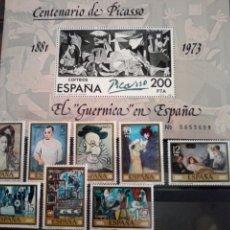 Sellos: SELLOS PICASSO. GUERNICA. ESPAÑA. ENVÍO GRATIS. Lote 182259401