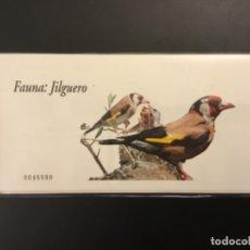 Sellos: 2006-ESPAÑA TALONARIO EDIFIL 4214C JILGUERO CARNET COMPLETO DE 100 SELLOS FAUNA Y FLORA VC: 650 €. Lote 182299603