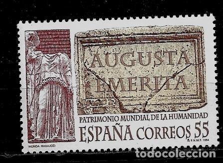 JUAN CARLOS I - EDIFIL 3316 - 1994 - BIENES CULTURALES Y NATURALES - PATRIMONIO MUNDIAL (Sellos - España - Juan Carlos I - Desde 1.986 a 1.999 - Nuevos)