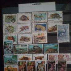 Sellos: SELLOS ANIMALES. ESPAÑA. ENVÍO GRATIS.. Lote 182481270