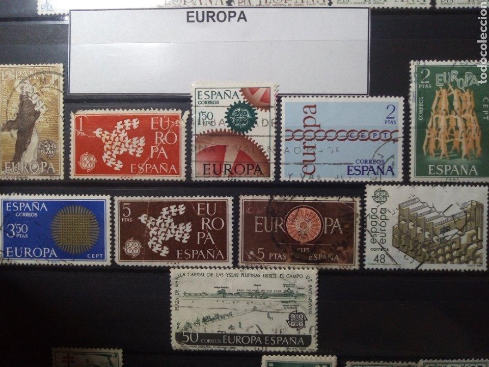 SELLOS EUROPA. ESPAÑA. ENVÍO GRATIS. (Sellos - España - Juan Carlos I - Desde 1.986 a 1.999 - Usados)