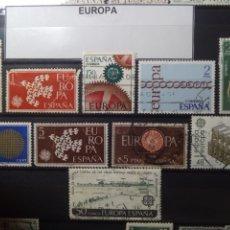 Sellos: SELLOS EUROPA. ESPAÑA. ENVÍO GRATIS.. Lote 182485016