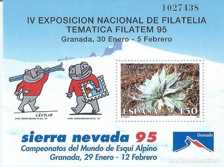 EDIFIL 3340 EXPOSICIÓN DE FILATELIA TEMÁTICA FILATEM'95. MNH ** (Sellos - España - Juan Carlos I - Desde 1.986 a 1.999 - Nuevos)