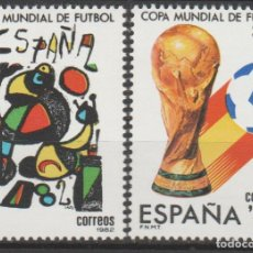 Sellos: 1982.-COPA MUNDIAL DE FÚTBOL ESPAÑA´82. Lote 182871437