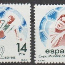 Sellos: 1982.- COPA MUNDIAL DE FÚTBOL ESPAÑA´82.. Lote 182877751