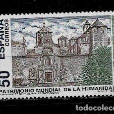 Sellos: JUAN CARLOS I - EDIFIL 3276 - 1993 - BIENES CULTURALES Y NATURALES - PATRIMONIO MUNDIAL. Lote 182911367