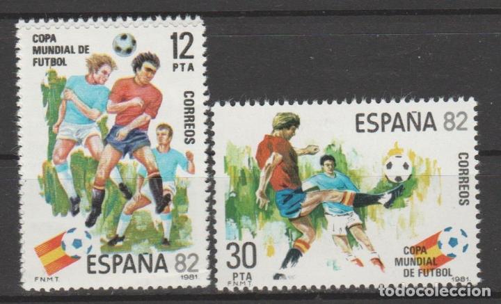 1981.- COPA MUNDIAL DE FÚTBOL, ESPAÑA´82. (Sellos - España - Juan Carlos I - Desde 1.975 a 1.985 - Nuevos)