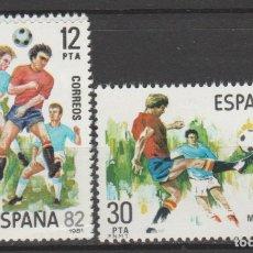 Sellos: 1981.- COPA MUNDIAL DE FÚTBOL, ESPAÑA´82.. Lote 183006988