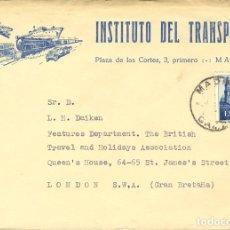 Sellos: ESPAÑA. 2º CENTENARIO ANTERIOR A 1960. 2º CENTENARIO ANTERIOR A 1960. MADRID / CAMBIO. MAGNIFICA. R. Lote 183117931