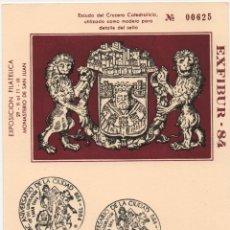 Sellos: TARJETA ILUSTRADA. MC AÑOS DE LA CIUDAD DE BURGOS. Lote 183167752