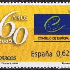 Sellos: ESPAÑA 2009 EDIFIL 4482 SELLO ** EUROPA CEPT 60 AÑOS CONSEJO DE EUROPA 0,62€ SPAIN STAMPS TIMBRE . Lote 183205765